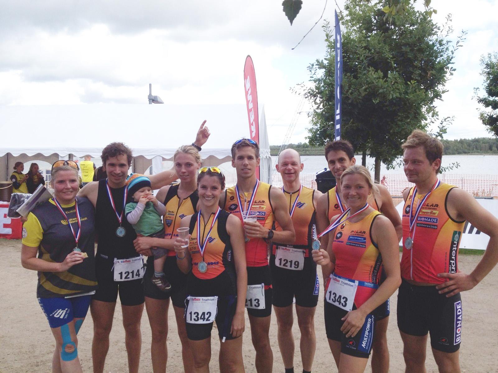 Gelungener Saisonabschluss In Der Landesliga Beim Elbe- Und Tribüne Triathlon