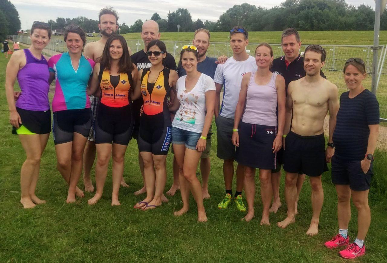 2. Wettkampf In Der Landesliga Beim Vierlanden Triathlon