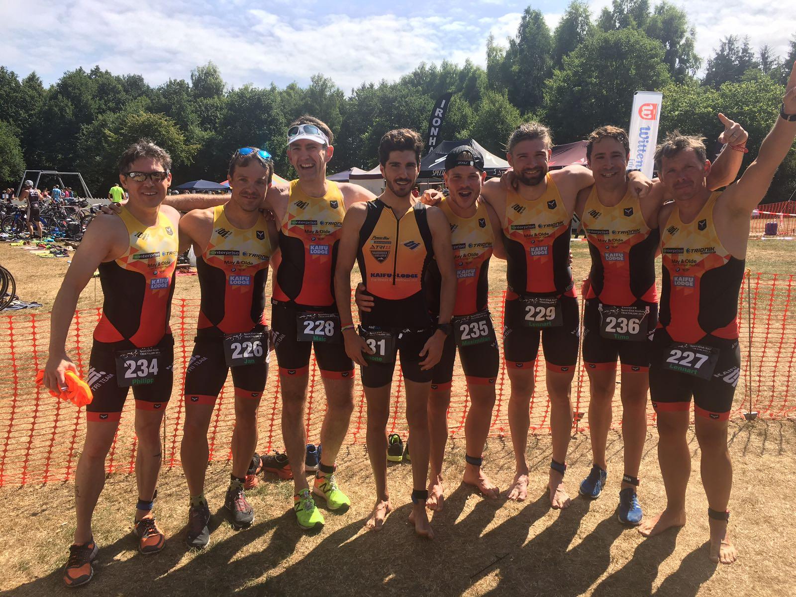 Landesliga Männer: Platz 2 Beim Swim Run, Sieg In Itzehoe