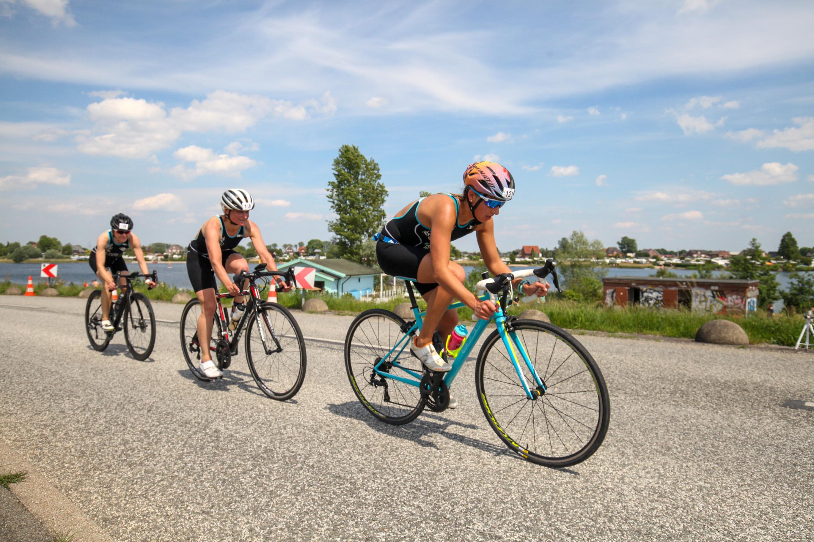 Vierlanden-Triathlon 2019 – Starker Auftakt Der Regionalliga Damen, Zweiter Sieg Der Landes- Und Verbandsliga Herren