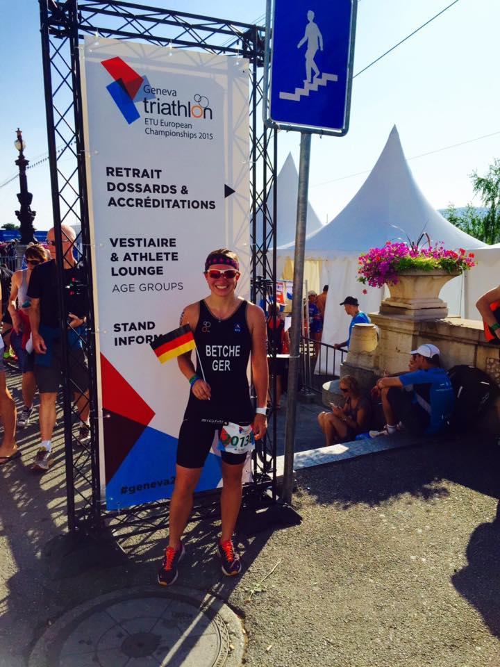 Josephin Bei Der ETU Europameisterschaft In Genf Am Start!