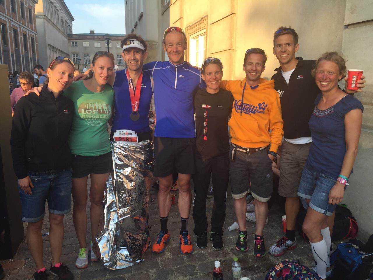 Kaifu Tri Team Erfolgreich Beim IRONMAN Kopenhagen