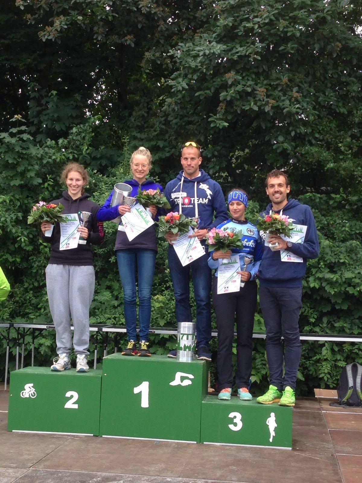 Leonie Siegt Beim 7 Türme Triathlon 2016