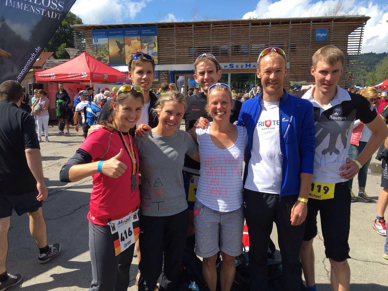 Erfolgreiche Nordlichter Beim Allgäu Triathlon 2016